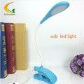 2835 USB Clip Flexible Reading LED Light Bed Table Desk Lamp Book Eye protection Table Light Laptop Desktop Light