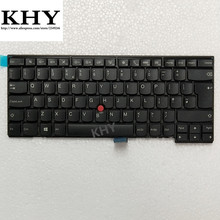 Original UK GB Keyboard For ThinkPad L440 L450 L460 T431S T440 T440P T440S T450 T450S T460 series fru 04Y0853 04Y0891 00HW905(China)