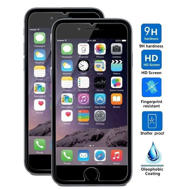 sneakers for cheap 1ac01 ed698 US $2.89 |Tempered Glass Screen Protector Gorilla 0.3mm Premium High  Definition Shockproof Screen Film for iPhone 7 7 Plus Anti Scratch-in Phone  ...