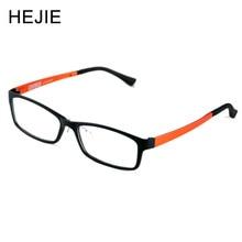 HEJIE Moda ULTEM Miopia Das Mulheres Dos Homens Revestimento de Óculos de Prescrição de Lentes Asféricas Anti Scratch Tamanho 55-17-140mm Y1142