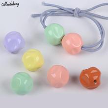 Acrylic Straight Hole Irregular Jewelry Bead Hair Ring DIY Accessory Pearl Diy Fresh Sweet Beads