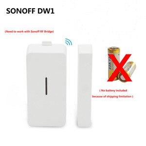 Image 2 - Sonoff DW1 5pcs Door Window Alarm Sensor Wireless Magnetic Door Detector Anti Theft Alarm Smart Home Automation Security System