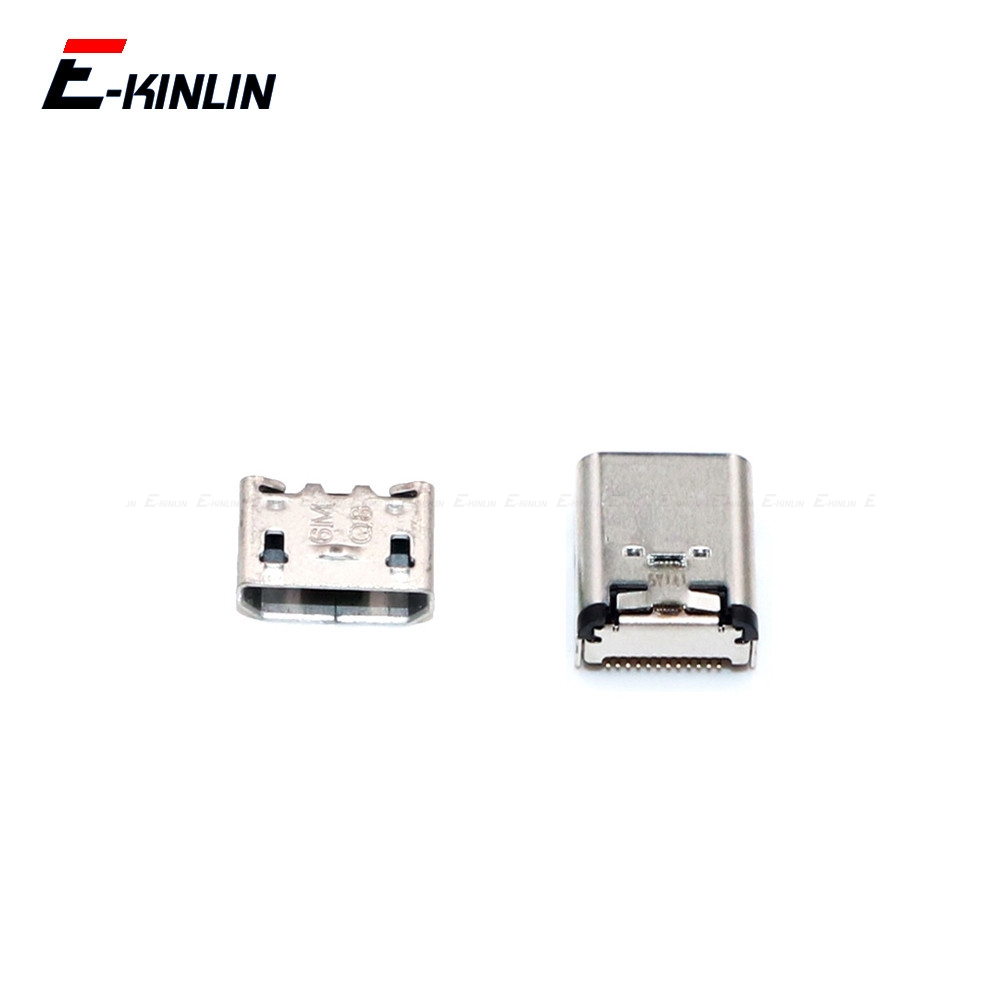 2pcs For OnePlus X 1 2 3 3T 5 5T 6 6T 7 Pro Micro Type C USB Plug Power Charging Charge Jack Port Connector Socket