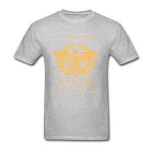 Image 4 - Roman Empire SPQR Short Sleeve T Shirts Teenage Great Shirts Pure Cotton O Neck Mens T Shirt For Group