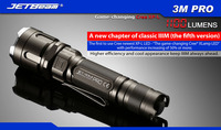 Free Shipping 2014 Original JETBEAM 3M PRO Cree XP L LED 1100 Lumens Flashlight Daily Torch