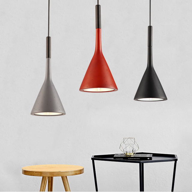 FULOC Dining lamp Pendant Lights Dining Room Pendant Lamps Modern Colorful Restaurant Coffee