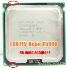 Xeon E5440 מעבד 2.83GHz 12M 1333MHz SLANS SLBBJ קרוב LGA775 Core 2 Quad Q9550 מעבד עובד על LGA 775 האם
