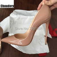 Brand Womens Shoes High Heels Women Pumps 12CM Heels Red Shoes Woman Pumps Sexy Pointed Toe