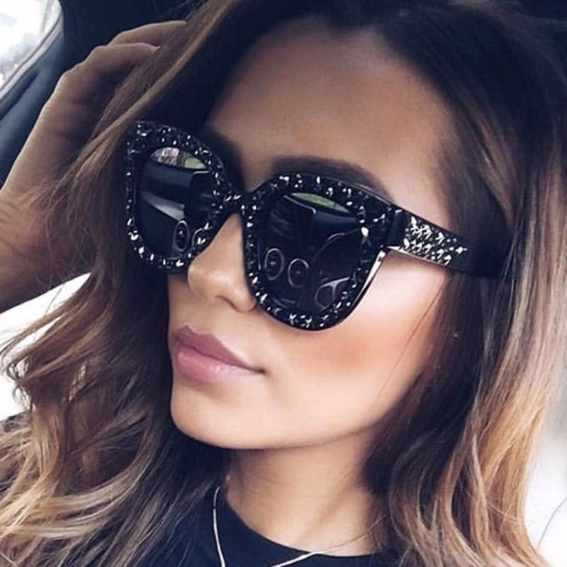 4e1b3c57dc 2019 New Luxury Square Sunglasses Women Brand Designer Shades Vintage Sun  Glasses For Women Sunglass Mirror 2018 zonnebril dames