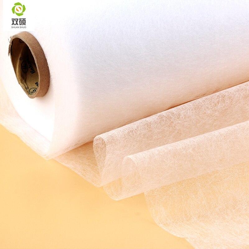 Широкий 112×50 см DIY аксессуары Ткань Лоскутное подкладка ткань двусторонний клей ткань нужно использовать Электрический Утюг