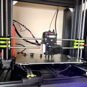 Image 5 - نشيط جديد 320x310 مللي متر طابعة ثلاثية الأبعاد الربيع الصلب مع لوحة بي ساخنة السرير بناء سطح منصة ل CR 10S برو ، CR X الساخن