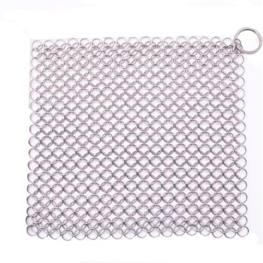 Finger Iron Cleaner Stainless Steel Chainmail Scrubber sep927 Extraordinary