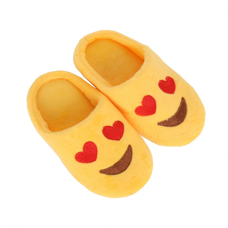 Baby Slippers Children Winter Boys Girls Cute Smiling Warm Slipper Kids Cotton Cartoon Soft Indoor Home-house Slipper
