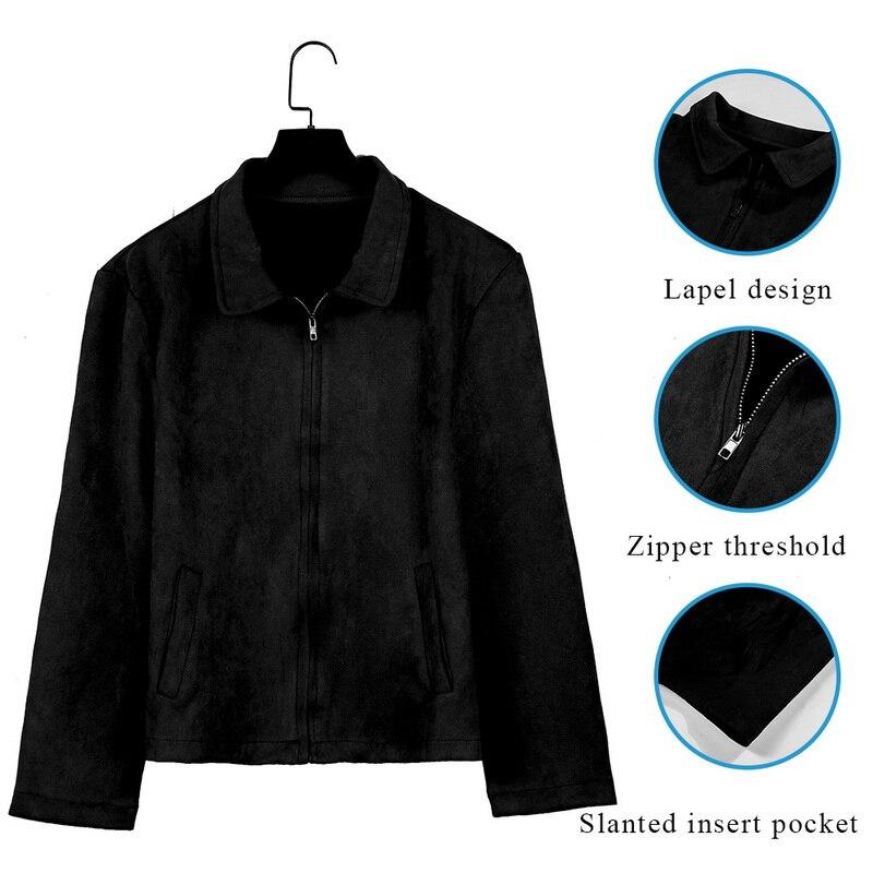 HTB1O8OTauH2gK0jSZFEq6AqMpXaw MJARTORIA 2019 New Fashion Men's Suede Leather Jacket Slim Fit Biker Motorcycle Jacket Coat Zipper Outwear Homme Streetwear