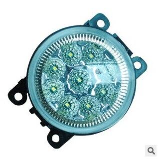 LED Fog lamp lights lamps light case for Ford Focus 2 3 MK2 MK3 2007 2008 2009 2010 2011 2012 2013 2014 2015 Swift