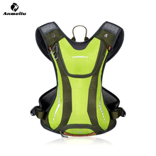 ANMEILU 5L Ultralight Cycling Motorcycle Mountain Bike Backpack Bag+ Marathon Backpack Bicycle Bike Racksack