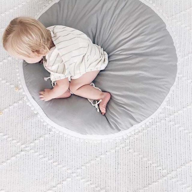 Round Baby Play Mat