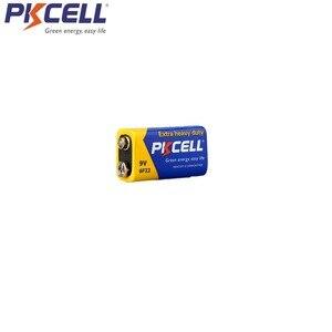 Image 5 - 50pcs PKCELL 9V סוללה 6F22 סופר כבד החובה סוללות עבור עשן etectorelectronic מדחום מצלמה, צעצועים וכו