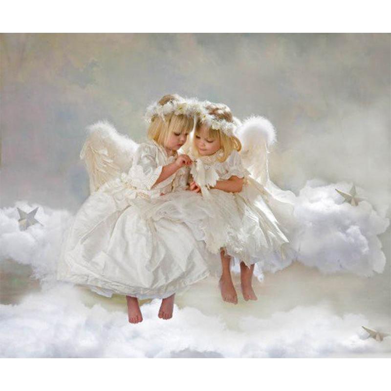 День, картинка ангелы на облаках