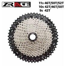 ZRACE Bicycle Cassette 9 10 11 Speed Freewheel 11-42T 11-46T 11-50T 11-52T For ALIVIO / DEORE / SLX / XT Cassette Freewheel