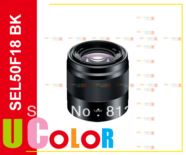 SONY E Mount 50mm F1.8 OSS Black Lens SEL50F18 For A3000 A7 A7R NEX-7 NEX-6 NEX-5T slr объектив sony e 35mm f1 8 oss sel35f18 e35 1 8