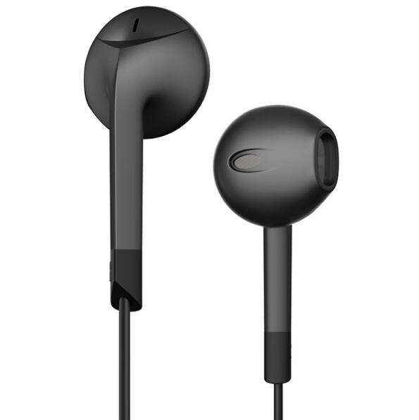 Original HRH E6C Earphones Patent Half In Ear Headphone Stereo Earbuds Bass Headset With Microphone For