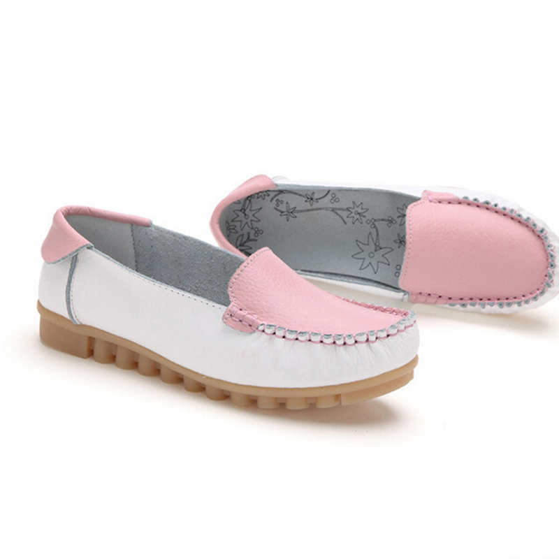 1 A133 Chaussures Femmes 4 Véritable En Zapatillas Mode Cuir 2 Nouvelle Mujer 3 Appartements Vogue Pop Ballets nO7axwB7