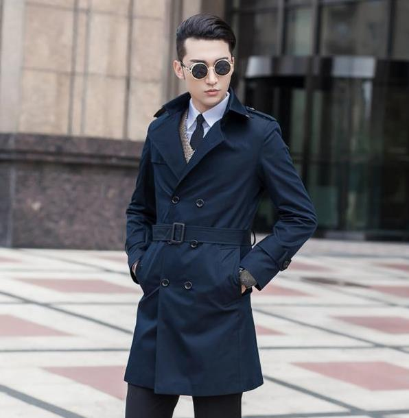Compare Prices on Blue Trench Coat Men- Online Shopping/Buy Low