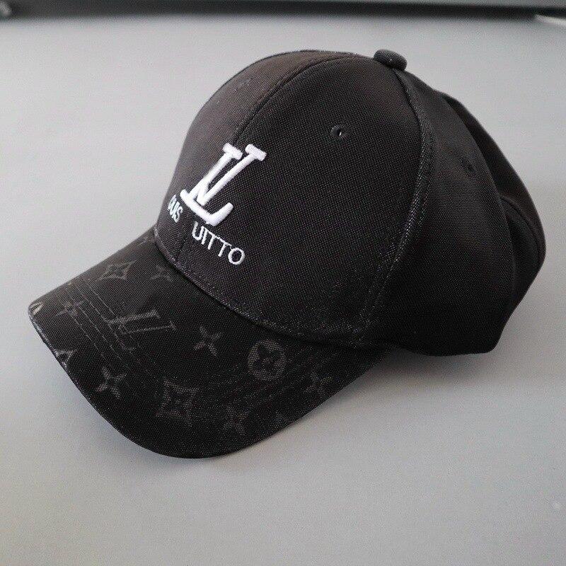 Student's Embroidery Letter   Baseball     Cap   Women/Men Adjustable Summer Sun Hats Black/Khaki/Grey   Cap   Snapback Monogramed