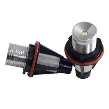 1 пара автомобиля светодиодный Ангельские глазки свет фар авто маркер лампы света лампы для BMW E39 E53 E60 E61 E63 E64 E65 E66 E83 E87 Лидер продаж