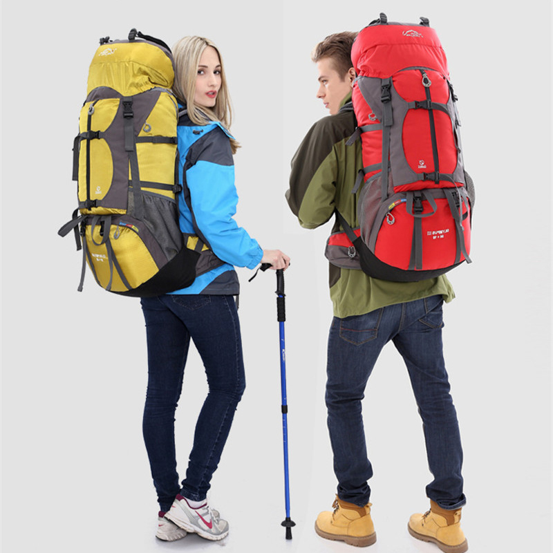 Randonnée Camping sac à dos sacs de plein air grande capacité étanche escalade sac hommes femmes sport voyage sac à dos sac à dos 65L 457A - 6