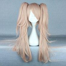 Anime Dangan Ronpa Enoshima Junko Wig Cosplay Costume Danganronpa Women Hair Halloween Women Wigs