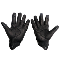 Unisex Touch Screen Breathable Protective Gears Leather Motorcycle Gloves Windproof Full Finger Moto Accessories