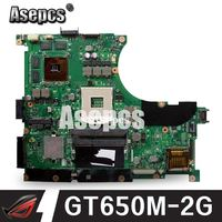 Asepcs N56VZ/N56VM Laptop motherboard for ASUS N56VB N56VM N56VZ N56VJ N56V Test original mainboard GT650M 2G Support i3 i5 i7