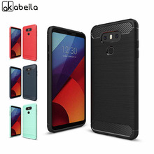 AKABEILA Phone Cover Case For LG G6 Dual H870DS H870 H871 H872 H873 H870K LS993 US997 Cases Cover Carbon Fibre Brushed
