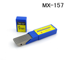 MX-157 9mm Carbon Steel Snap-off Utility Sharp Knife Replacement Blade 50-Blade/Pack