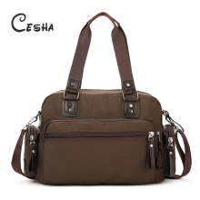 0725be4220ec Cesha Luxurious High Quality Waterproof Nylon Women s Handbag Fashion  Casual Vintage Men s Large Capacity Travelling Bag