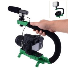 The new C-style video image stabilization lever bracket for DSLR DC DV camcorder