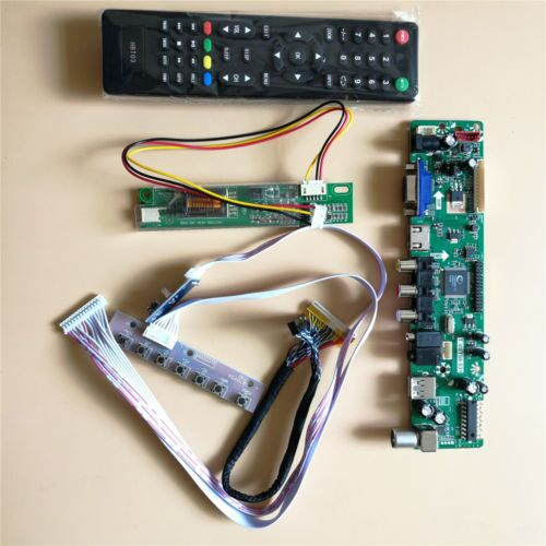 Kit for LP154W01 AE TV+HDMI+VGA+USB LCD LED screen Controller Driver Board TL