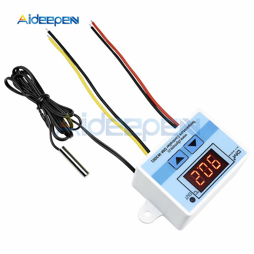 W3001 110V 220V régulateur de température numérique Thermostat Thermo incubateur régulateur de chauffage transformateur de AC-DC puissance isolée