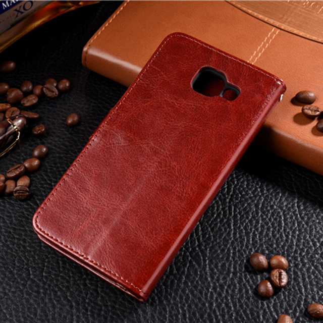 Leather Phone Case For Samsung Galaxy A3 A5 A7 2016 J3 J5 J7 Neo J701 2017 J5 J7 J2 Prime A8 A6 2018 S9 Plus Flip Wallet Cover 2