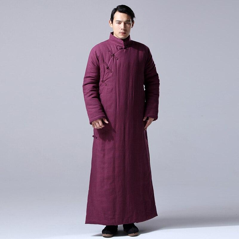 Daoist Double Layered Winter Robe 3