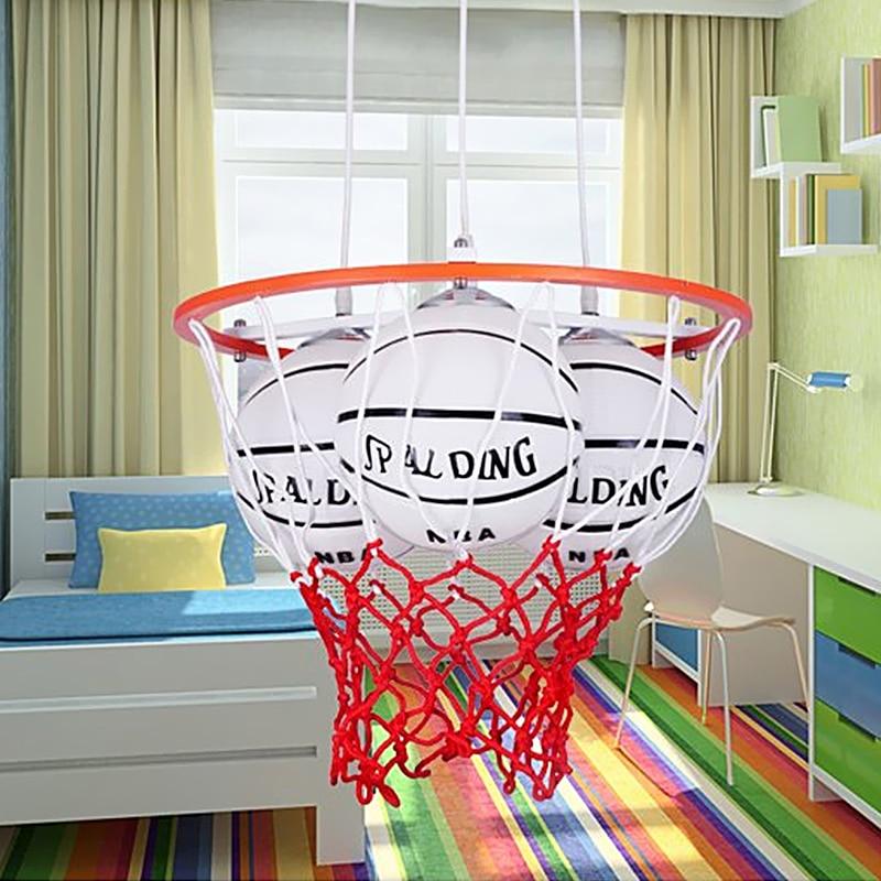 Boy Basketball Pendant Lights Modern Bar Minimalist