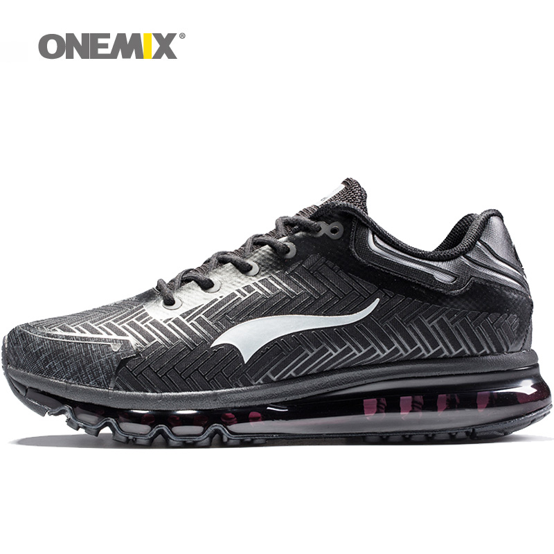 New Hot Sell Onemix Men's Running Shoes Air Cushion Sneakers For Men Sport Shoe Athletic Zapatillas Outdoor  Breathable  Shoes hot new 2016 fashion high heeled women casual shoes breathable air mesh outdoor walking sport woman shoes zapatillas mujer 35 40