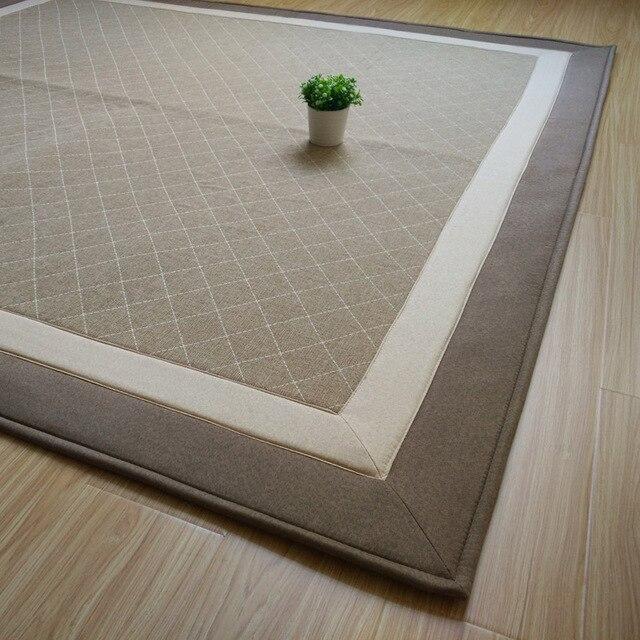 Tatami Matten japanse stijl woonkamer piaochuang tatami matten katoen gemengd
