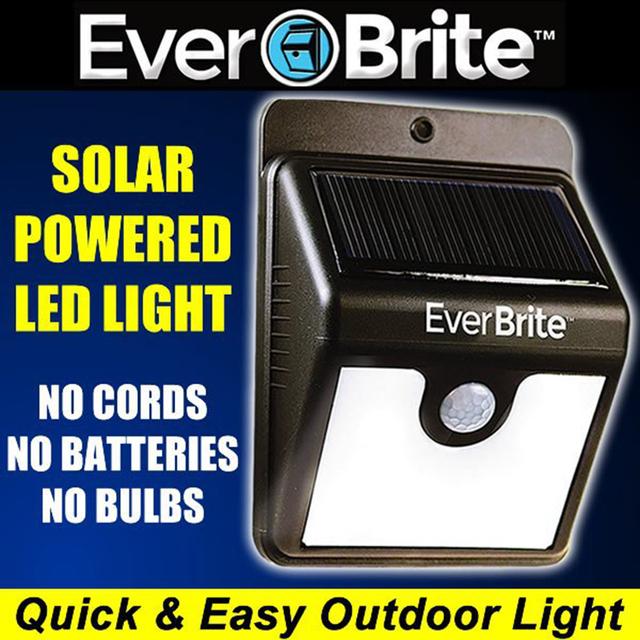 72pcs Hot Solar Energy Ever Brite Outdoor Stick Up Light Motion Activated Lights As Seen On Tv Everbrite Emergency