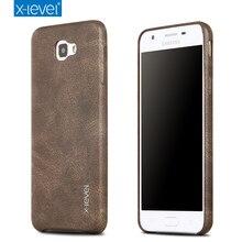 X-уровень Ретро Роскошный телефон чехол для Samsung Galaxy J5 2016/J5 премьер Кожаный чехол для Samsung Galaxy J5 премьер телефон оболочки
