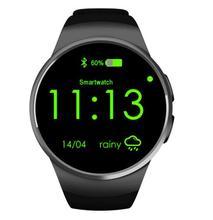 Smart watch kw18 nfc pulsmesser sim tf smartwatch android 2.5d ogs touchscreen smart armbanduhr bluetooth facebook buit