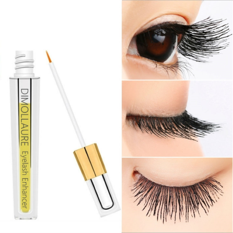 Dimollaure Eyelash Growth Serum New Eyelash Enhancer Eye Lash eyebrow Treatment Liquid Longer Thicker Eyelash Extension Makeup