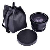52mm 0.35x Super Fisheye Wide Angle Camera Lens for 52 MM Nikon D7000 D7100 D5200 D5100 D5000 D3100 D90 D60 With 18 55mm Lens